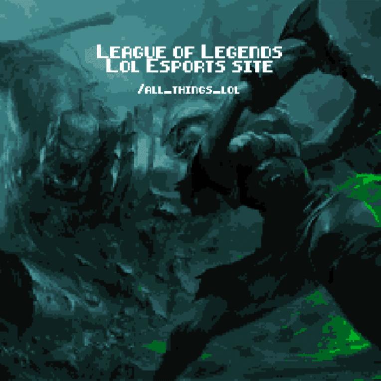 League of Legends Lol Esports
